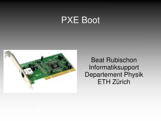 PXE Boot