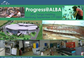 Progress@ALBA