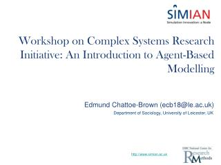 Workshop on Complex Systems Research Initiative: An Introduction to Agent-Based Modelling