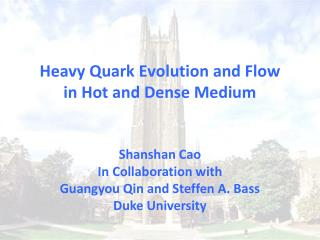 Heavy Quark Evolution and Flow  in Hot and Dense Medium