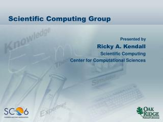 Scientific Computing Group