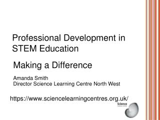 Professional Development in STEM Education