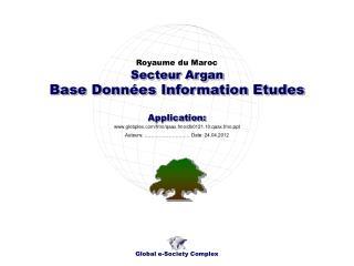 Base Données Information Etudes