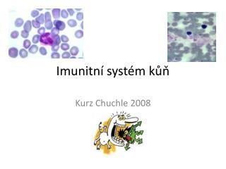 Imunitní systém kůň