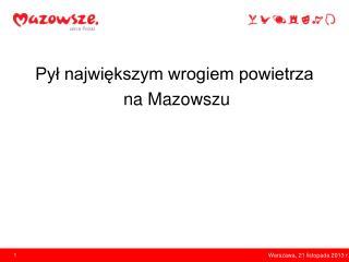 Warszawa, 21 listopada 2013 r.