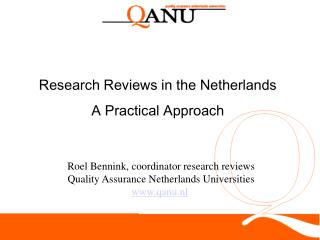 Research Reviews in the Netherlands A Practical Approach
