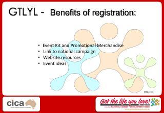 GTLYL -   Benefits of registration: