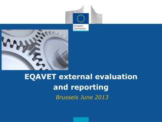 EQAVET external evaluation and reporting