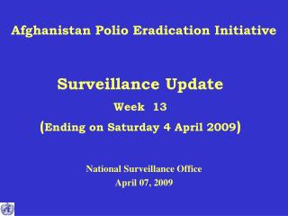Afghanistan Polio Eradication Initiative
