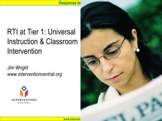 RTI 'Pyramid of Interventions'