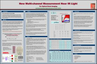 New Multi-channel Measurement Near IR Light For Optical Brain Imaging