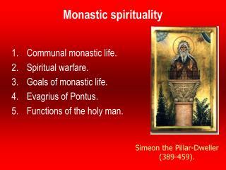 Monastic spirituality