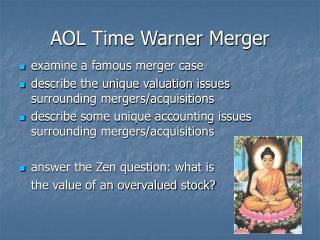 AOL Time Warner Merger