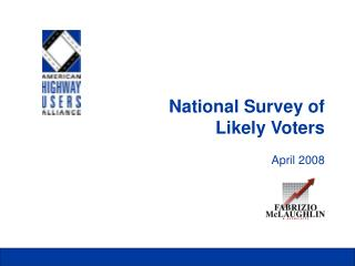 National Survey of Likely Voters