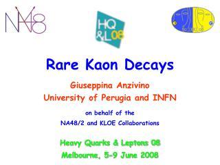 Rare Kaon Decays