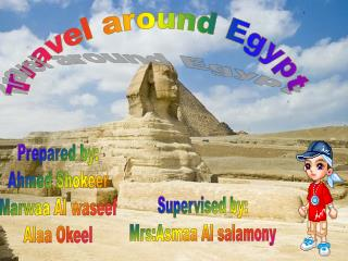 Travel around Egypt