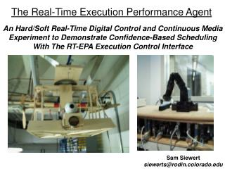 The Real-Time Execution Performance Agent