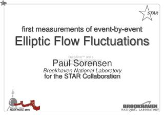 first measurements of event-by-event Elliptic Flow Fluctuations