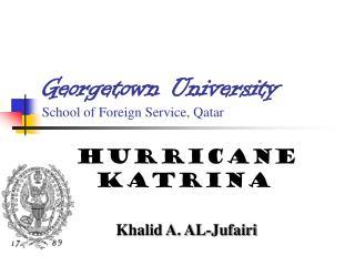 Georgetown University School of Foreign Service, Qatar
