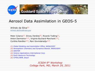 Aerosol Data Assimilation in GEOS-5