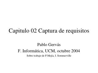 Capitulo 02 Captura de requisitos