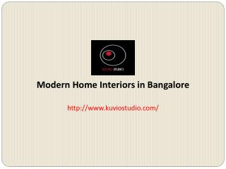 Best Home Interior services in Bangalore