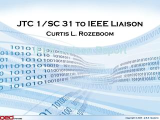 IEEE Liaison Report