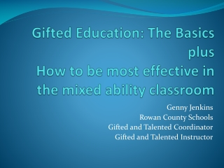 Beyond the Core Curriculum:   Gifted Education in an  RtI Framework