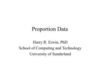 Proportion Data