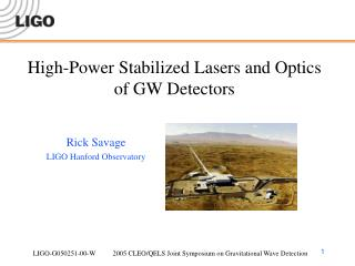 High-Power Stabilized Lasers and Optics of GW Detectors