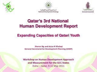 National Ownership: Qatar�s NHDRs