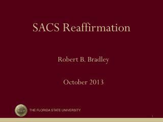 SACS Reaffirmation