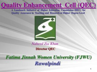 Quality Enhancement  Cell (QEC)