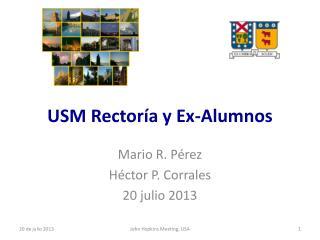 USM Rector�a y Ex-Alumnos