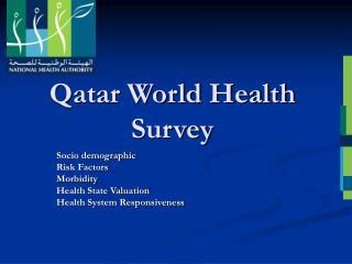 Qatar World Health Survey