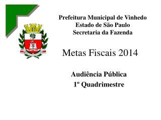 Metas Fiscais 2014