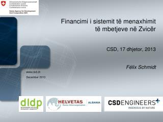 Financimi i sistemit të menaxhimit të mbetjeve në Zvicër