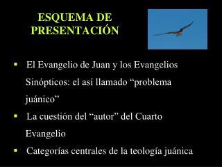 ESQUEMA DE  PRESENTACIÓN