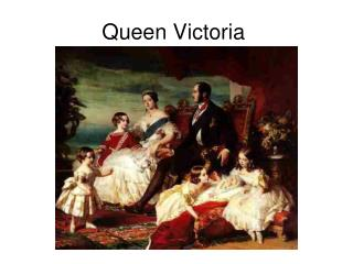 Queen Victoria You need notebooks