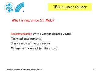 TESLA Linear Collider