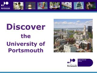 Discover the  University of Portsmouth