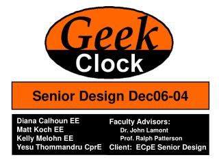 Senior Design Dec06-04