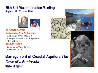 Management of Coastal Aquifers  The Case of a Peninsula State of Qatar