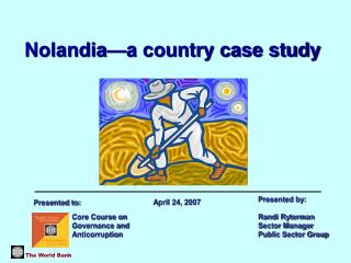 Nolandia—a country case study