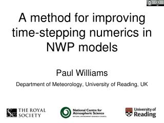 A method for improving time-stepping numerics in NWP models