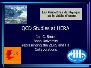 QCD Studies at HERA