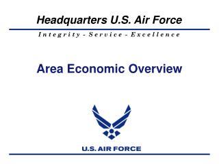 Area Economic Overview