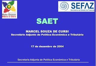 Secretaria Adjunta de Política Econômica e Tributária