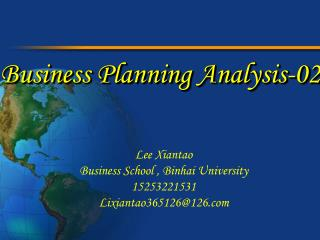 Business Planning Analysis-02