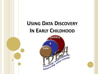 Using Data Discovery In Early Childhood